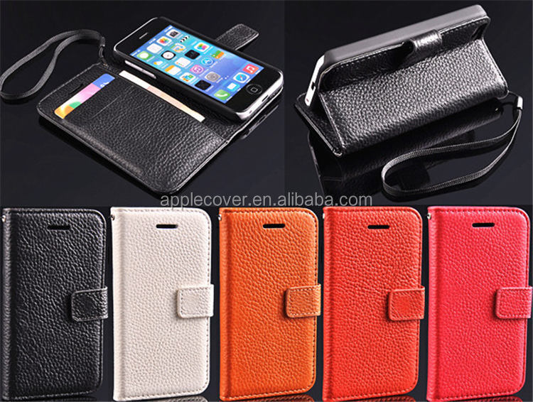 Good quality ultra slim leather case for iphone 5c unlocked