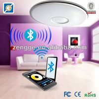 round crystal ceiling lamp with remote wireless work lights