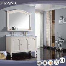 Frank export to usa leisure style hand carved flower mouldiness control knock down bathroom vanity cabinet