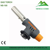 NS-100 auto ignition butane gas torch for welding