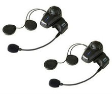 Bluetooth Stereo Headset and Intercom for Motorcycles Dual Pack.