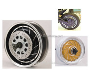 High quality 2 years warranty big power 48v-96v 8000w electric car wheel motor made in china