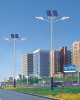 Competitive price outdoor LED solar light and light pole 3 years warranty solar led garden light
