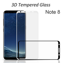 Wholesale Premium Raw Material Anti-Glare Blue Film Note 8 Tempered Glass Screen Protector For Samsung Galaxy