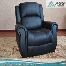 Home Furniture Modern Living Room Recliner Leather Sofa AGS-7053