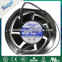 plastic body 172x150x51mm industrial ac axial cooling fans