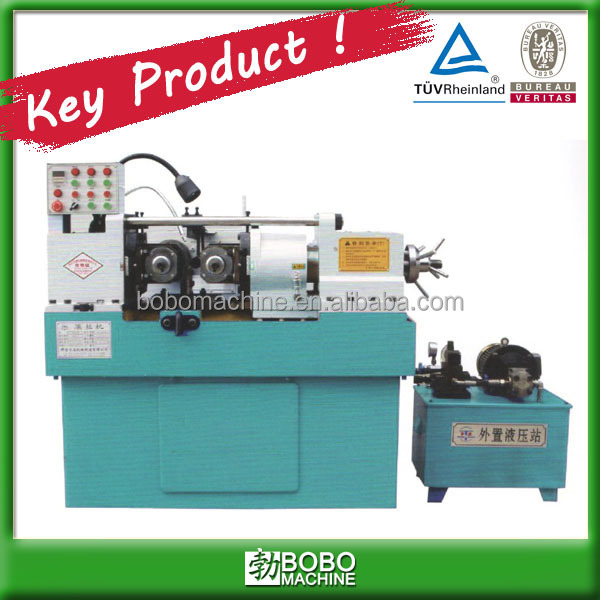 Steel rod thread rolling making machine