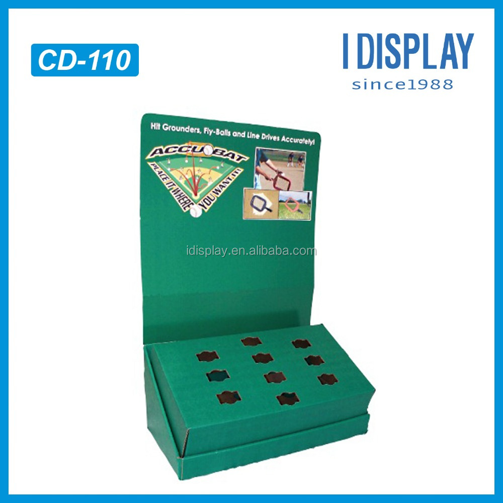 CD-110 roof whitening counter display stand wooden display racks