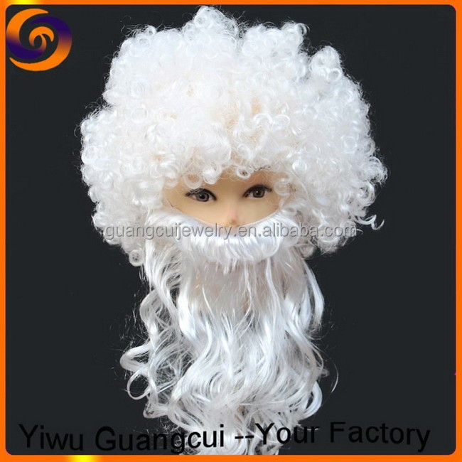 Christmas Santa Claus artificial goatee fake beard for sale