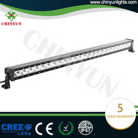 Chinyun CE/ROSH/IP67 certifications Straight singel row off road led light bars for trucks