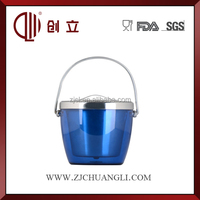 750ML Double wall mini portable wine ice bucket