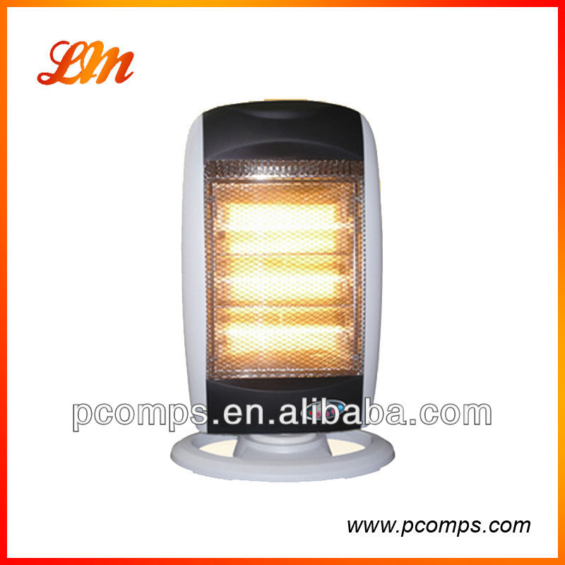 220V Halogen Room Heater with Remote Control,Long and Equably Heating