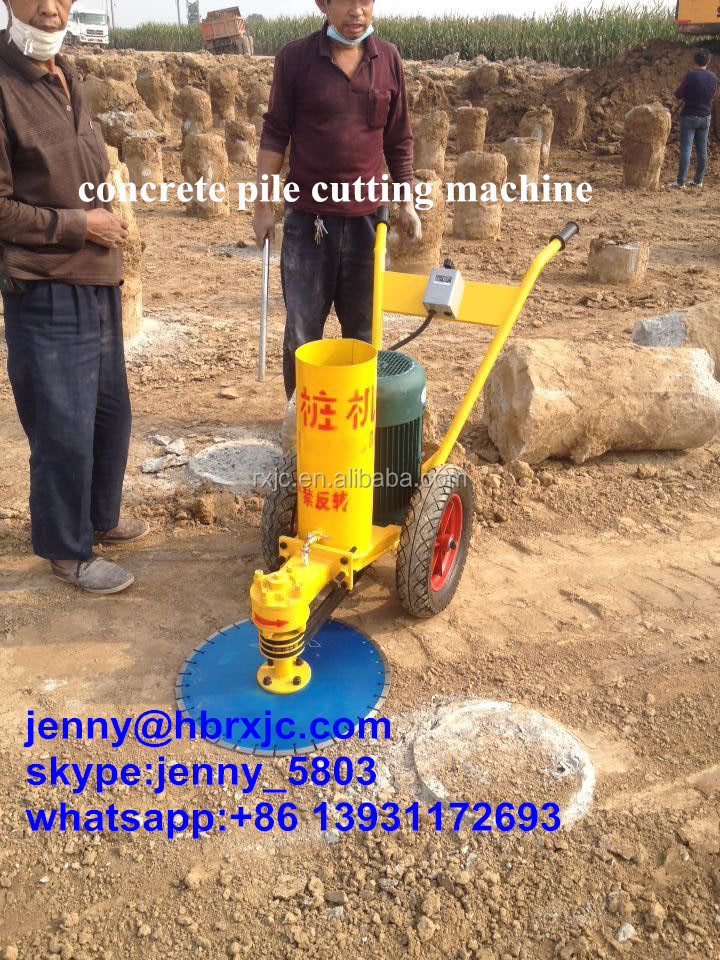1200mm concrete pile cutting machine reinforced concrete pile cutting machine