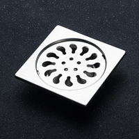 Bathroom Floor Drain Stainless Steel Cover