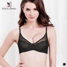 Three Quarters Seamless Open Hot Sexy Girl Photo With Cloth Bra