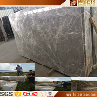 Chinese sunny grey marble tile , Guangxi province silver grey net marble , Natural gray marble slab table top