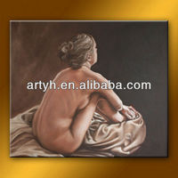 Newest sexy back art nude picture for house decor