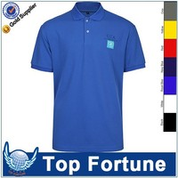 custom men ladies short sleeve polo
