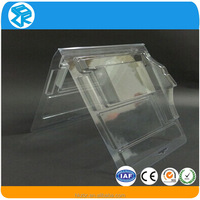 Cheap clear plastic cell phone case custom blister packaging