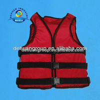 Offshore non-inflatable life jacket with average size