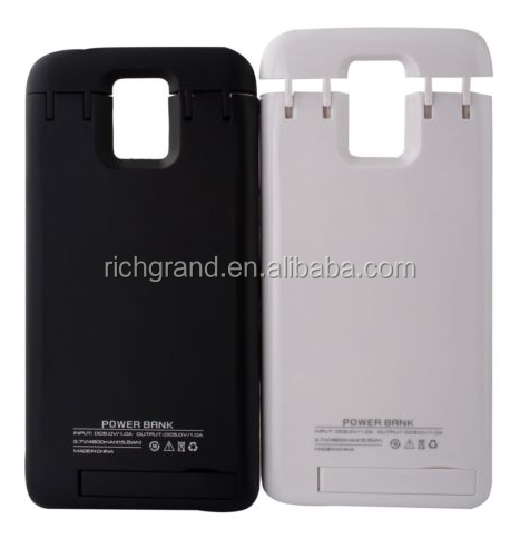 4800mAh Portable Power Bank External Battery Backup Case for Samsung S5 I9600