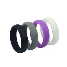 SD cheap cute silicone rubber finger rings for kids