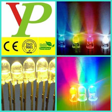 hot sale used led diode/round led/flat top led