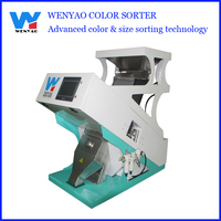 One chute Polished Pigeon Peas ccd camera Color Sorter Machine