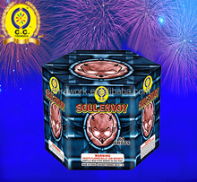 high quality 0.8 1 1.2 1.5 inch 16 25 36 49 shot coconut cake fireworks