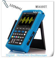 Micsig MS410IT 2 channels oscilloscope 100 mhz dual power deep memory depth touch screen digital scope
