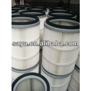 Hot selling cylindrical hepa air filter dust cartridge