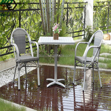Outdoor Furniture Anique Dining Chairs Bamboo Restaurant Tables