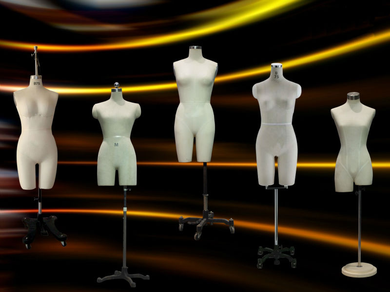 Cheap Female Halfbody Tailors Dummy For Hot Sale