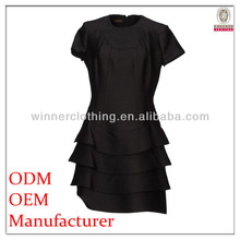 Fashion sexy ladies irregular hem design clothing model