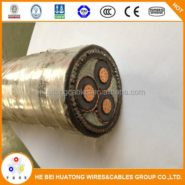 China manufacture underground xlpe 11kv power cable price
