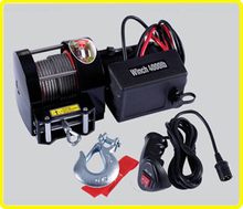 12v trailer winch , utv 4000 lb hitch mounted winches , ce approved electric rope winch