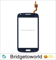 Original For Samsung Galaxy Core Duos i8260 i8262 Touch Screen Digitizer Sensor Front Glass Lens Blue and White