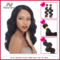 Grade 6A No Tangle Raw Indian Extensions Natural Hair