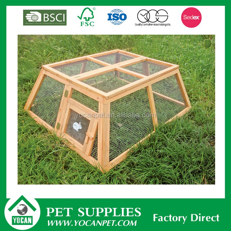 Different kinds of natural rabbit breeding cages