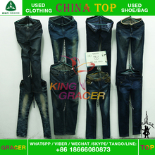 Recycling Branded High End Baled Clothing Used Jeans In Bales