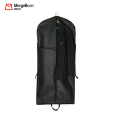Nylon foldable suit cover garment bags for suits and dresses