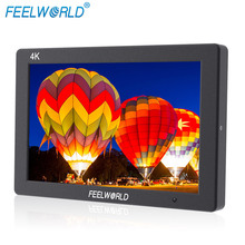 FEELWORLD T7 New Arrival Portable 4K Camera Top Global Broadcast Monitor with HDMI Input and Output and Embedded Audio Meter