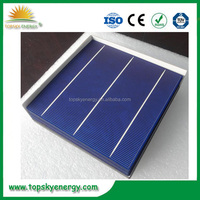 Taiwan/ China tier 1 solar cell 17.6% efficiency poly solar cell for solar panel 250w 300w