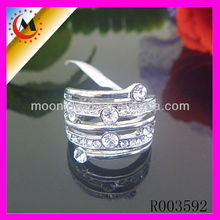 SIMPLE PLATINUM RINGS JEWELLERY,FAKE WEDDING RINGS,KOREAN DESIGN PASSION RING