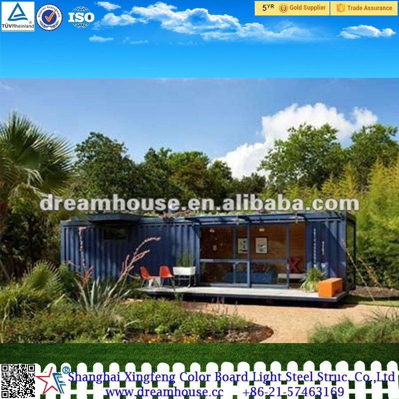 ZGM prefabricated movable living 40ft shipping container houses usa