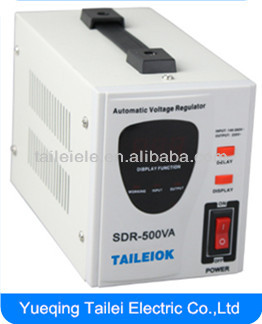 AVR/SDR 220V 500VA AC home use electric voltage stabilizer