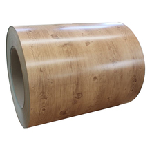 Printed PPGI Wooden Pattern Prepainted G30 G40 Galvanized Steel Coil Color Coated