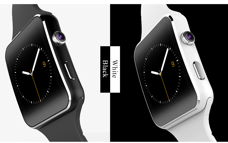 2019 Hot Selling Smart watch X6 Smartwatch with Camera Bluetooth Smartwatch Support Android and for iphones