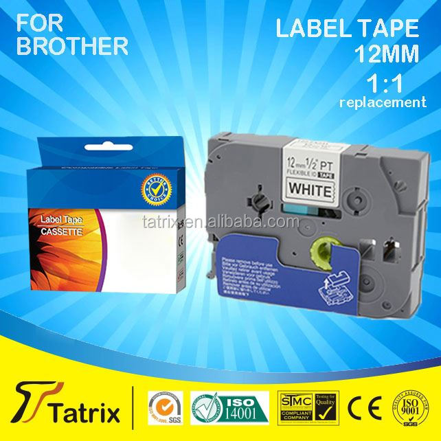 Compatible tz tape tz-241 for P-touch tz tape black on white Made in China