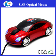 Corporate Gift USB Cable Car Mouse With Customized Logo